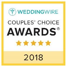 Wedding wire 2018 Awards