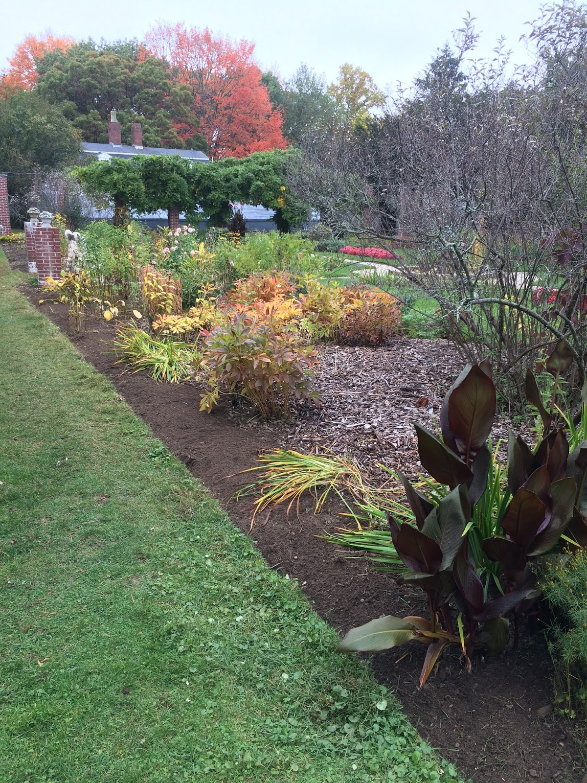 the beautiful gardens of Glen Magna Farms